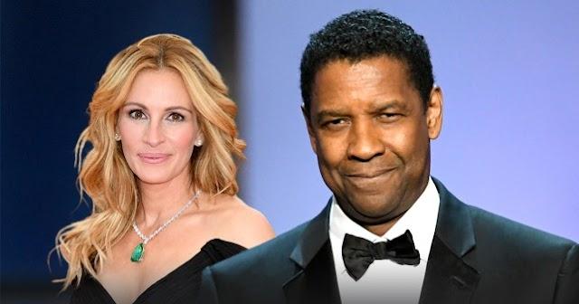 Denzel Washington y Julia Robert  trabajarán para Netflix