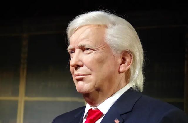 tượng sáp tổng thống Trump