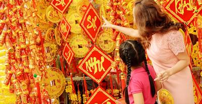 Decoration for Tet Festival