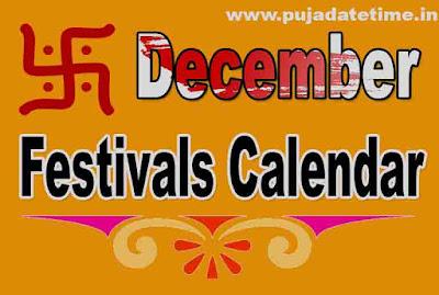 December Festivals Calendar