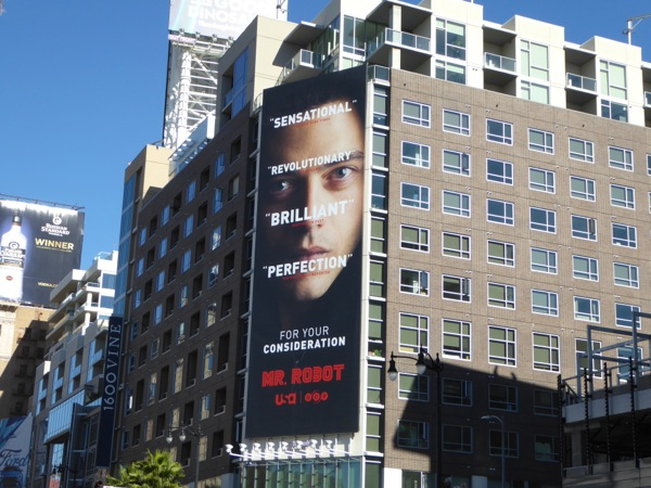 Mr Robot FYC 2015 billboard