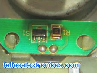 sensor de movimiento lavadora