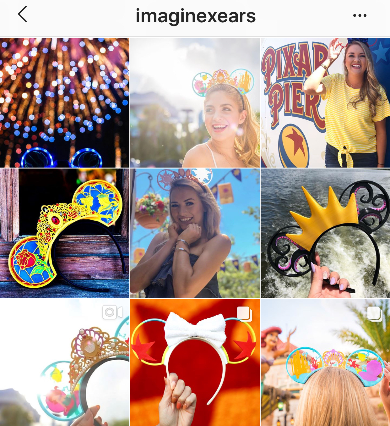 Imaginex Ears instragram