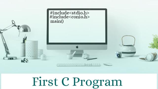 First c program