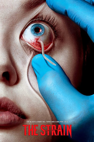 FX The Strain by Guillermo del Toro Season 1 Episode 1 Night Zero Recap Review Worm in the Eye Eclipse Retina