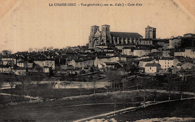 CPA La Chaise-Dieu, Haute-Loire, Auvergne.