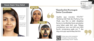 Testimoni YOUTH Hydrating Gel Mask dan Purifying Clay Mask