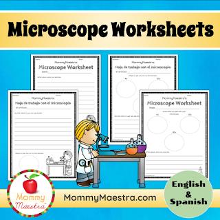 Printable microscope worksheets