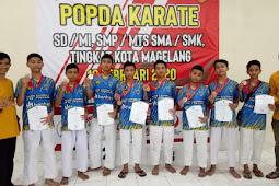 8 Medali Karate Tambah Koleksi Prestasi SMP Mutual