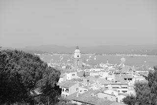 Vue sur le vieux village de Saint-Tropez