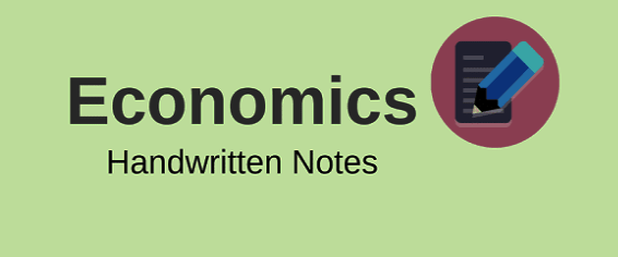 Notes on Economics for competitive Exams PDF Download