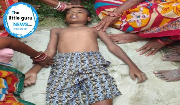 पताही थाना क्षेत्र के बेलाहीराम गांव के नदी में डूबने से एक युवक  हुई मौत