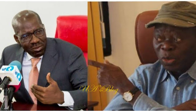 Drama As Priest Fails To Unite Oshiomhole, Obaseki In Benin
