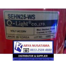 Jual Sirine Warning Soun QS-SEHN25 WS 220V-LC di Padang