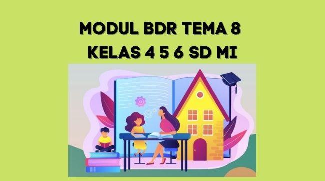 Modul BDR Tema 8 Kelas 4 5 6