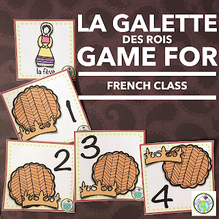 La galette des rois game for french class
