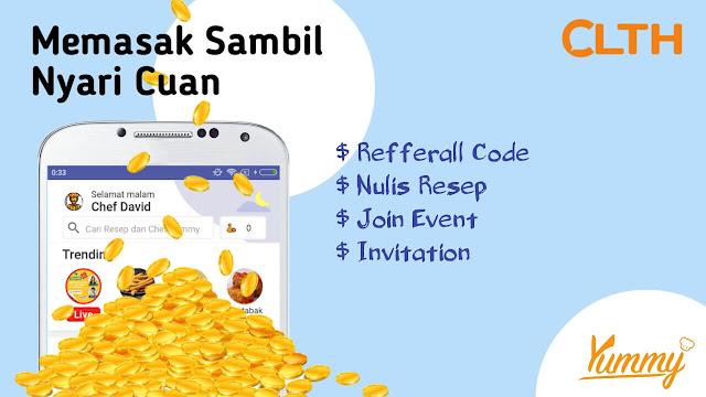 Cara Menghasilkan Uang dengan Memasak di Yummy App