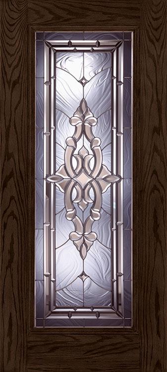 Silverdale® Full Lite fiberglass door in Walnut Oak finish & Blog Feature of the Week!