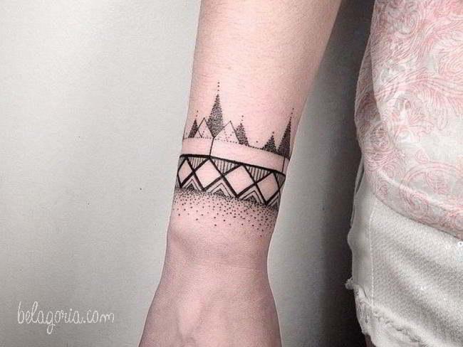 70 Tatuajes De Pulseras En La Muñeca Muy Finos Para Chicas