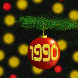Christmas bauble 1990