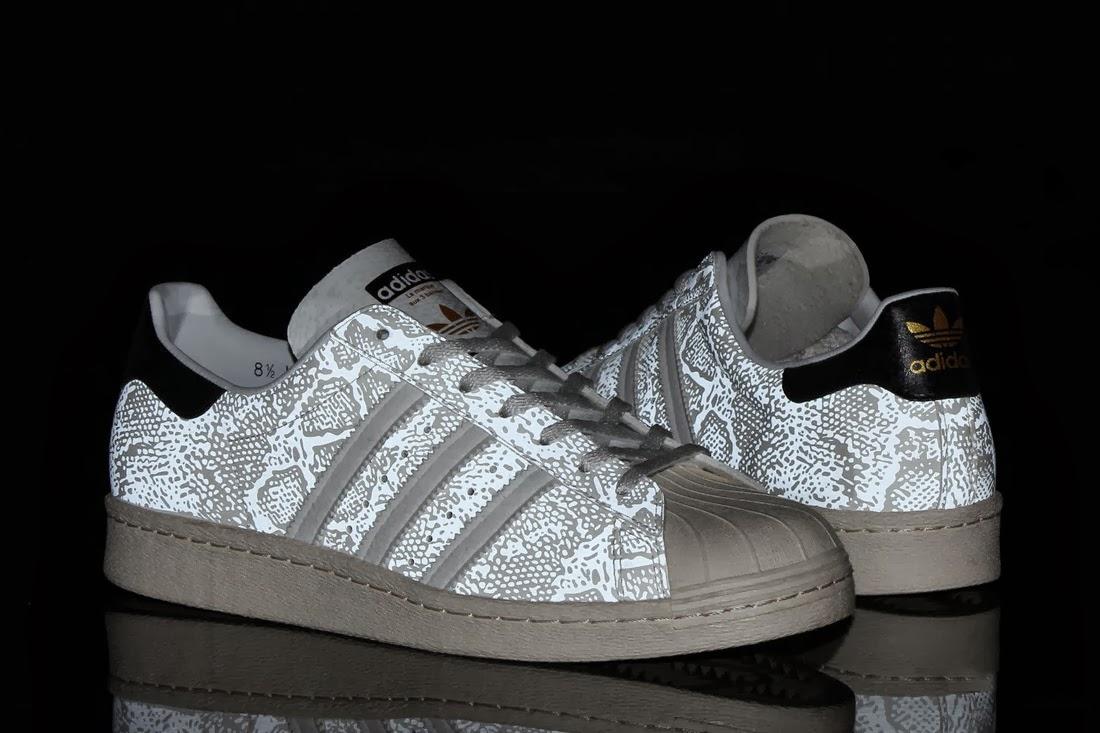 Adidas Superstar Weiß Schwarz Muster wj