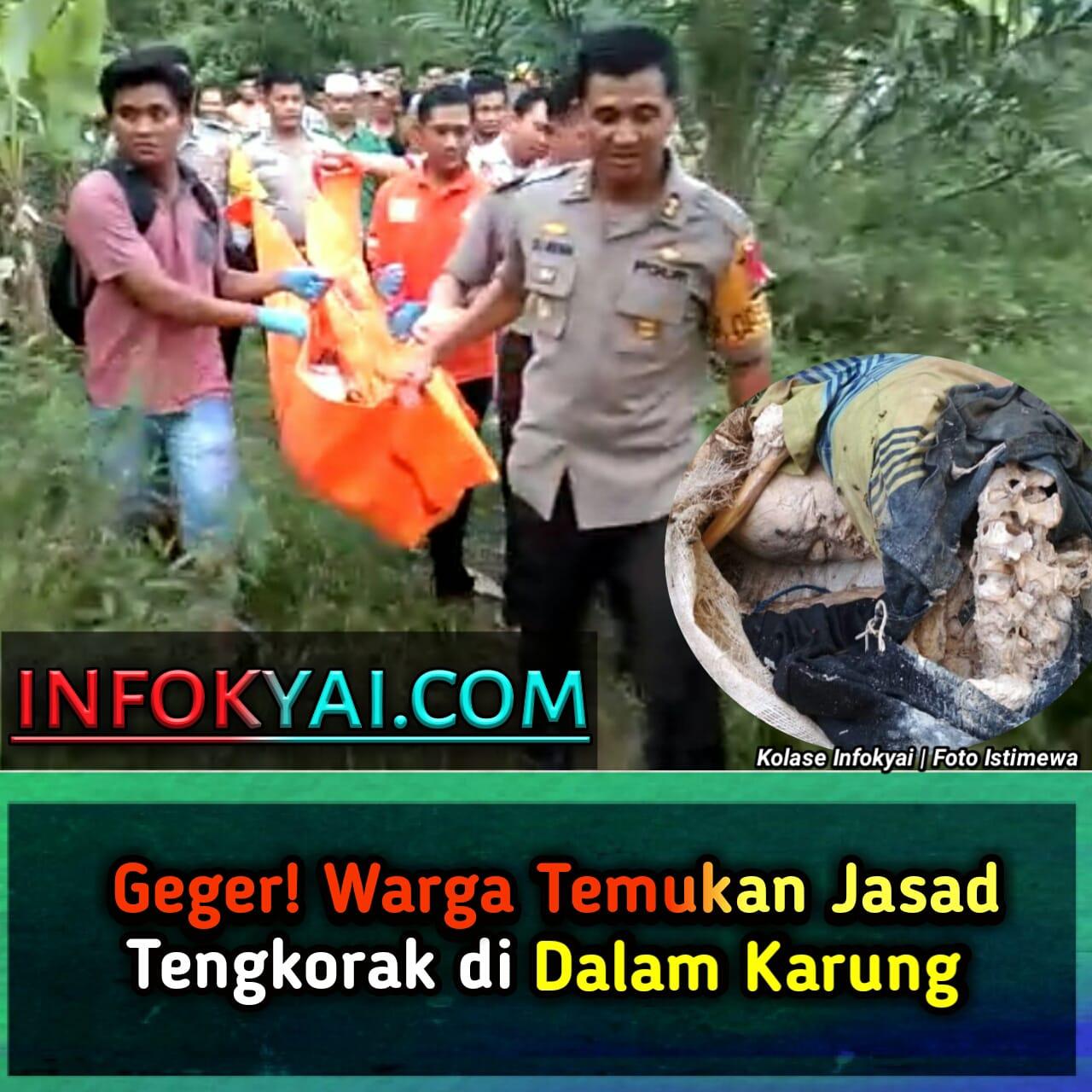 Mayat Dalam Karung: Geger! Warga Temukan Jasad Tengkorak Di Dalam Karung