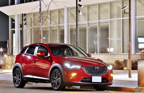 Design Mazda CX 3 new