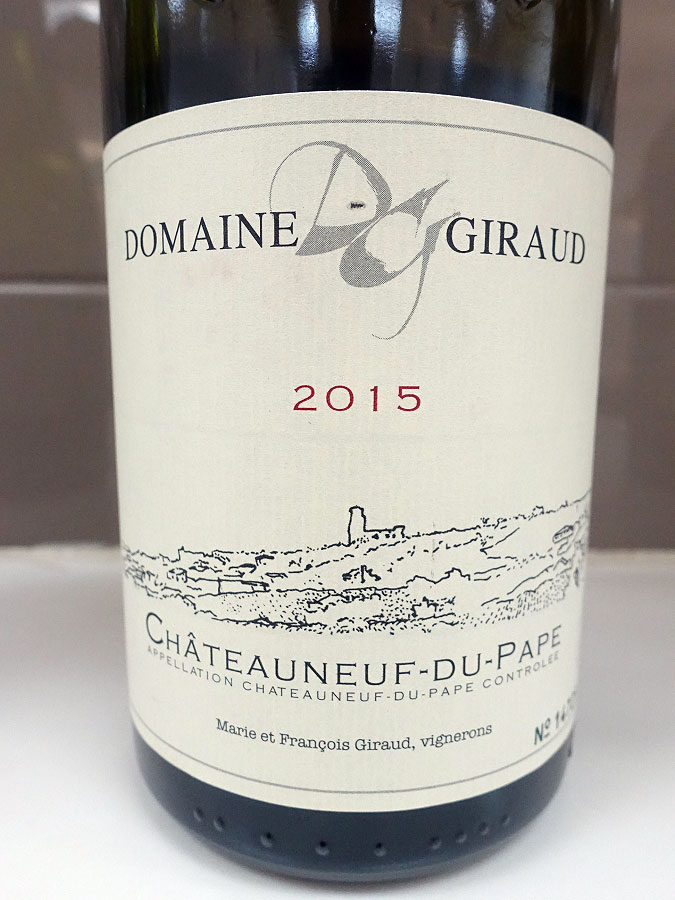 Giraud Tradition Châteauneuf-du-Pape 2015 (92 pts)