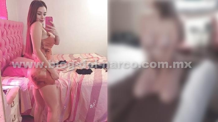 """Circulan las siguientes imágenes de Maine de la Cruz, novia de """"El Caimán"""" jefe de Sicarios en Tijuana del CJNG"""