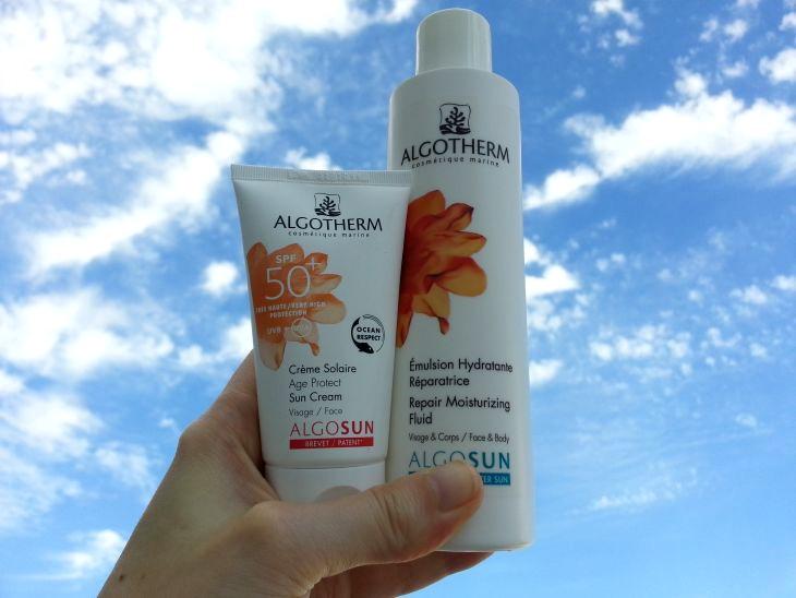 algotherm, gamme de crèmes solaire algosun