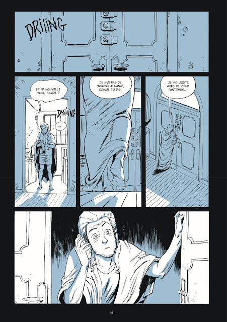 Puzzle BD page 14 chez Ankama éditions