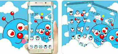 Aplikasi Wallpaper, Tema, Keyboard Doraemon - Tema Kartun Lucu-Lucu