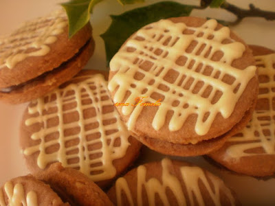 Išleri / Christmas chocolate cookies