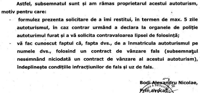 Alex Bodi o acuză pe Bianca Drăgușanu de fals și uz de fals! Afaceristul susține că vedeta și-a însușit fraudulos o mașină de lux! DOCUMENTE EXCLUSIVE