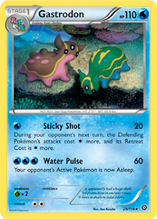 Gastrodon Steam Siege Pokemon Card