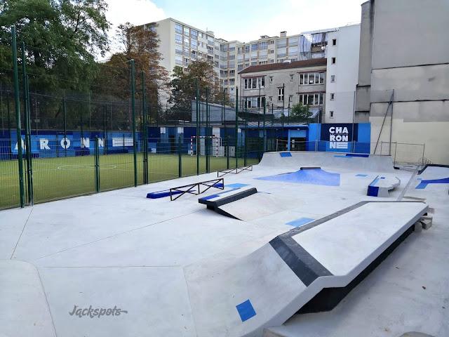skatepark charonne adidas paris