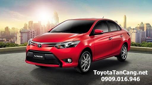 Toyota Vios 2015 luôn có xe giao ngay tại Toyota Tân Cảng - Hotline: 0909.016.946
