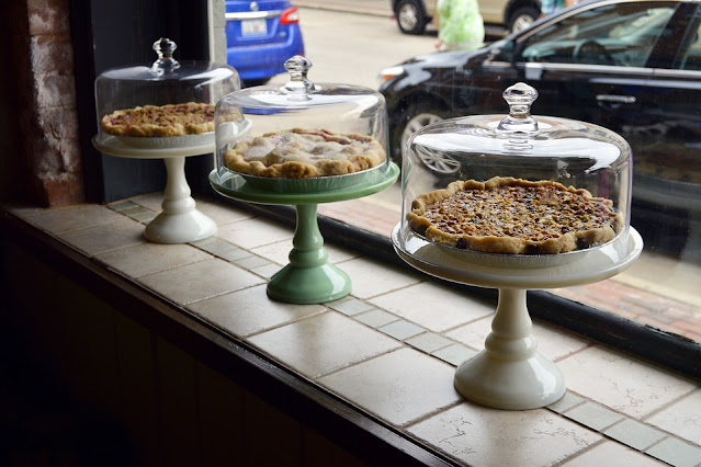 Image: Pies Under Glass in a Pie Store Window, by Quinn Kampschroer on Pixabay