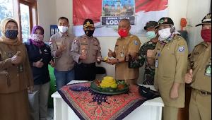 Kapolsek Ujung Berung Resmikan Kampung Tangguh Nusantara Pasanggrahan