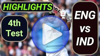 ENG vs IND 4th Test 2021