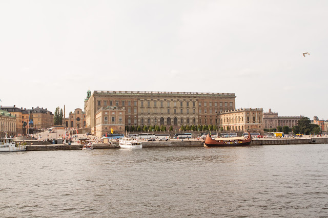 Quartiere di Norrmalm-Stoccolma