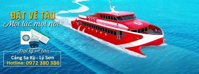 Tàu Chính Nghĩa 07 mới nhất hiện nay ở Sa Kỳ - Lý Sơn