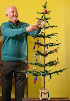 80 year-old Christmas tree - links to article in The Guardian