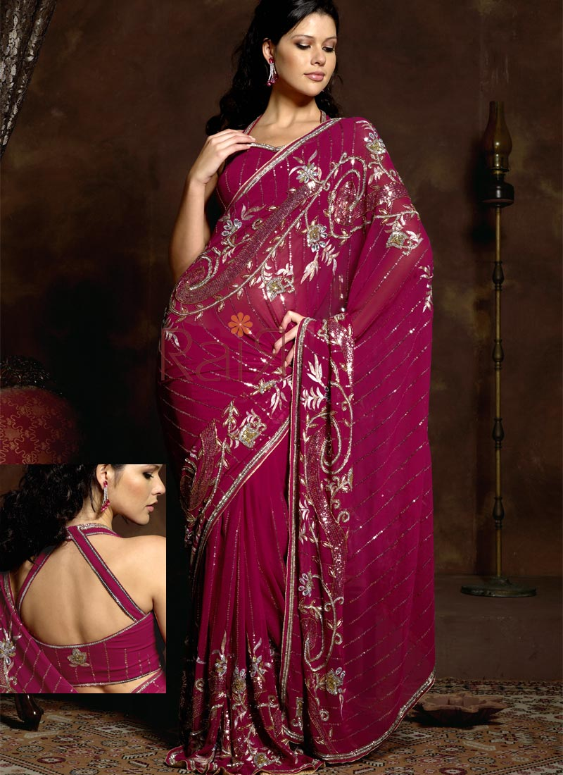 Bollywood Sarees Navels: Fashion Designs Stars: Latest Indian Sari 2011