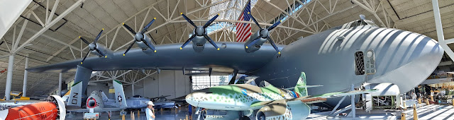 The Spruce Goose at the Evergreen Aviation and Space Museum...