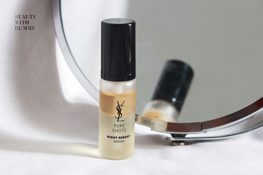 Ysl Pure Shots Night Reboot Serum Review Beauty With Dummy Indonesian Beauty Lifestyle Blog