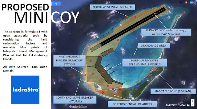 Proposed Minicoy Naval Base - IndraStra Global