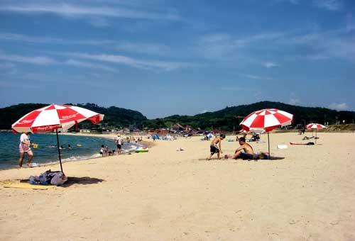 Iwami Seaside Park, Shimane.