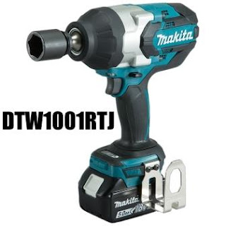 MAKITA DTW1001RTJ CORDLESS LI-Ion IMPACT WRENCH W/-LED