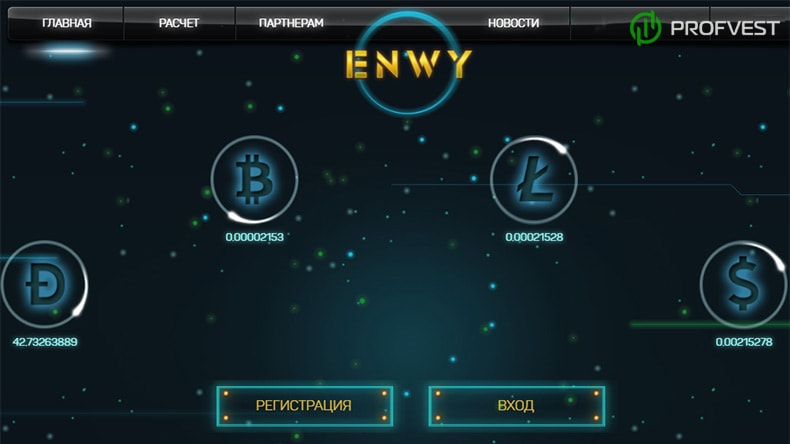 Успехи работы Enwy